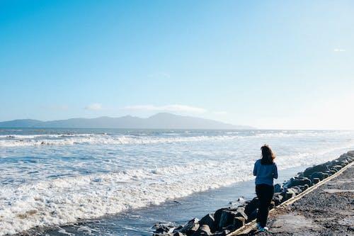 Foto stok gratis cewek, di luar rumah, gelombang, hiburan