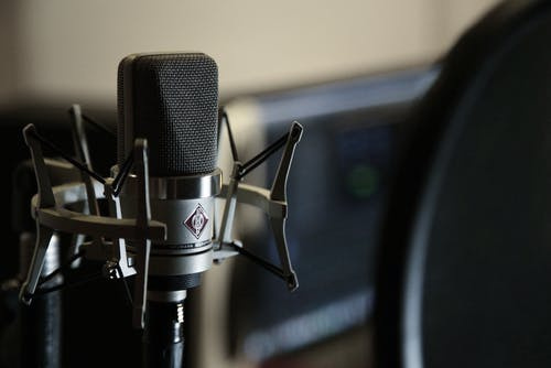 Close-Up Photo of Microphone