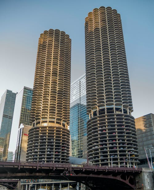 Free stock photo of bridge, building, chicago, corncob
