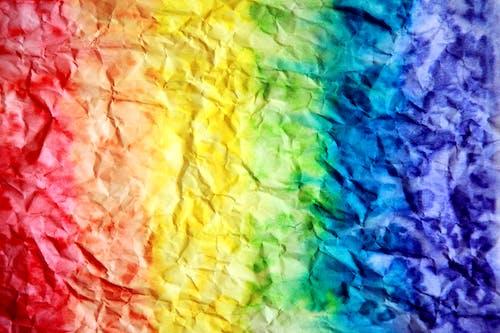 Fotobanka sbezplatnými fotkami na tému akvarelové farby, detailný záber, dizajn, dúha