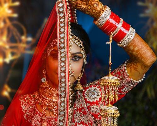Základová fotografie zdarma na téma asiatka, atraktivní, barvy, barvy v indii