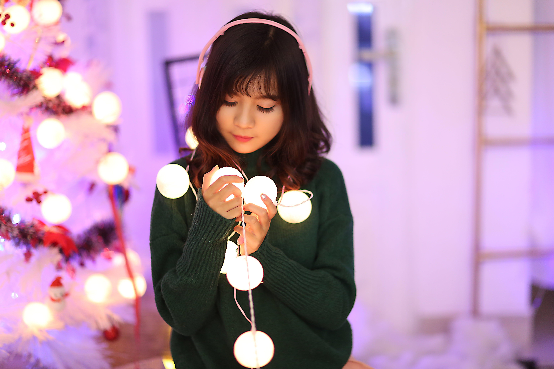 beautiful, christmas, cute