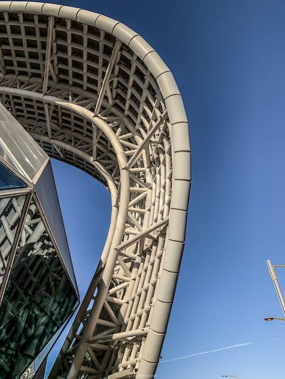çelik, Çelik yapı, cephe içeren Ücretsiz stok fotoğraf