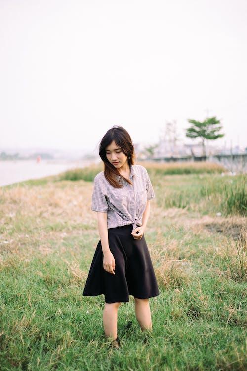 Fotobanka sbezplatnými fotkami na tému asijský model, Ážijčanka, bruneta, japončina