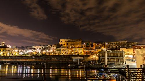 Free stock photo of city night, dark background
