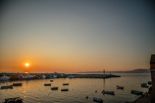 Free stock photo of beach sunset, sunset