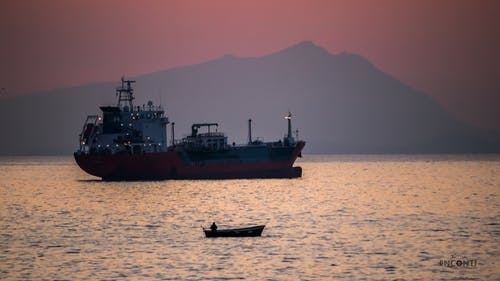 Free stock photo of cargo ship