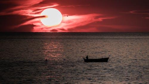 Free stock photo of beach sunset, Beautiful sunset