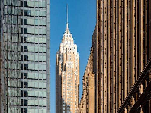 Kostnadsfri bild av amerika, arkitektonisk design, arkitektur, art déco