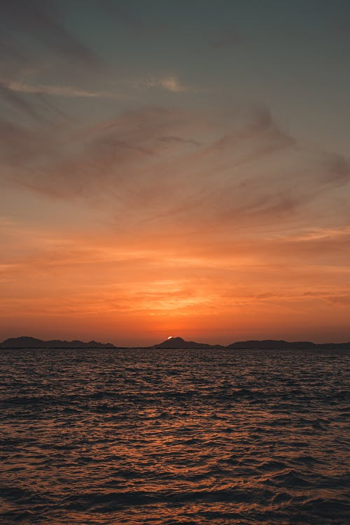 açık, akşam, akşam karanlığı, arkadan aydınlatılmış içeren Ücretsiz stok fotoğraf