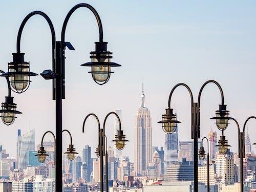 光, 商業, 地標, 城市 的 免费素材照片