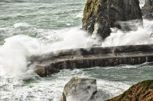 Základová fotografie zdarma na téma bouře, mávat, moře, vlna