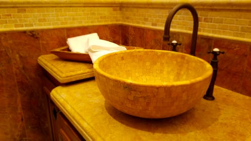 Free stock photo of bathroom, elegant sink