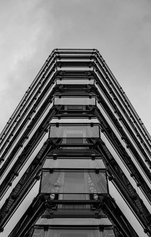 Imagine de stoc gratuită din alb-negru, arhitect, arhitectură