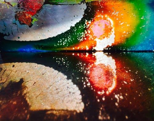 Kostenloses Stock Foto zu abstrakt, glas, kunst, licht
