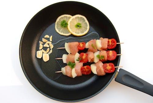Základová fotografie zdarma na téma hranolka, jídlo, kebab, maso