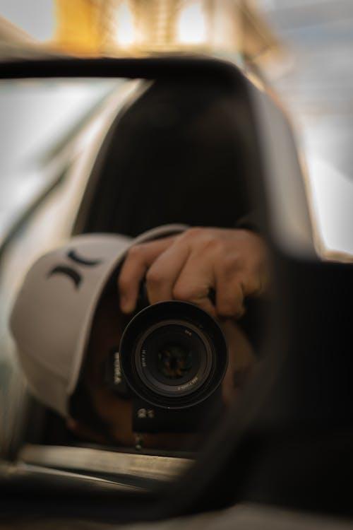 Бесплатное стоковое фото с Авто, автомобиль, боковое зеркало, глубина резкости