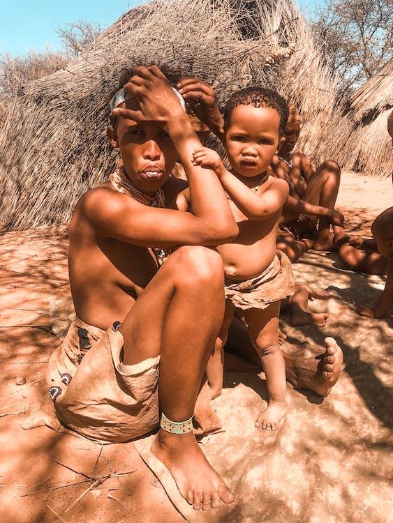 Bosquimanos, Tanzania, Africa, tribu