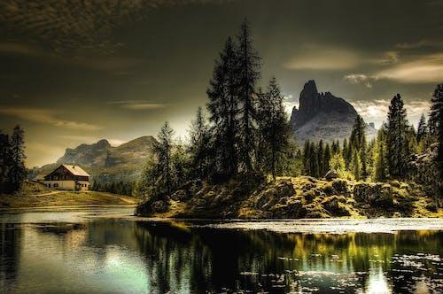 Gratis lagerfoto af alpin, bjerge, bjergtinde, dagslys