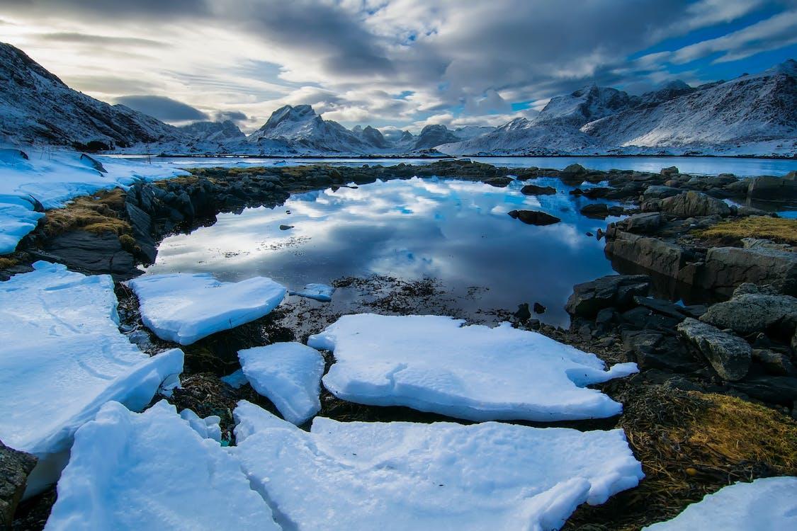 Iceberg on Rock