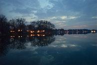 light, dawn, landscape