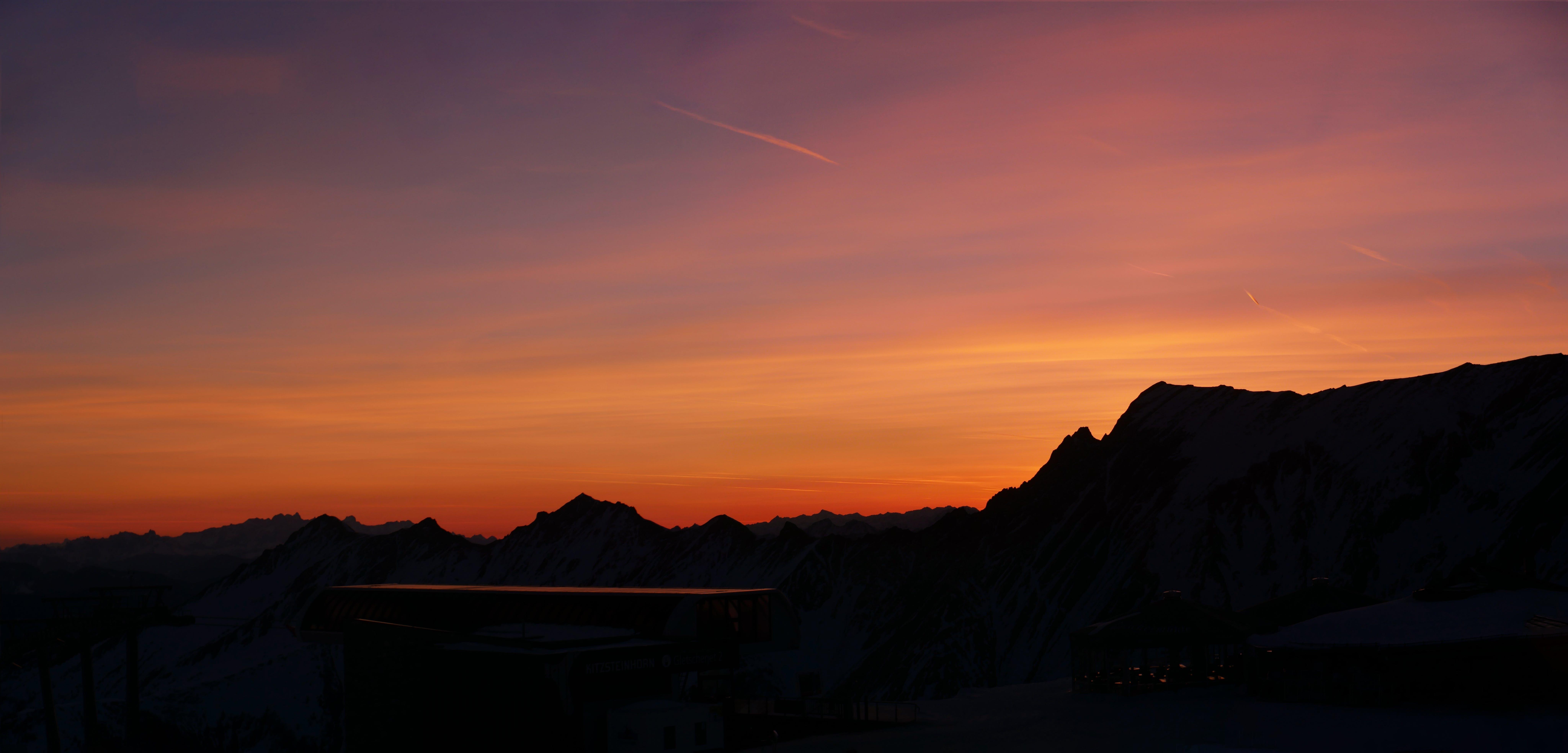 alpine, austria, gondola