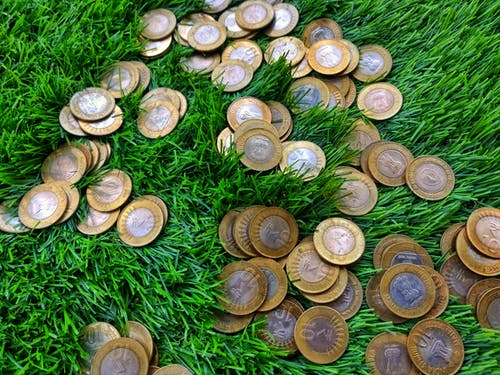 Free stock photo of coins, gold coin, indian coins, indian money