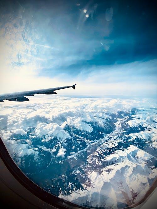 Gratis lagerfoto af atmosfære, dagslys, flyrejse, flyve