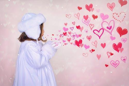 婚禮, 小女孩, 心形, 情人節 的 免费素材照片
