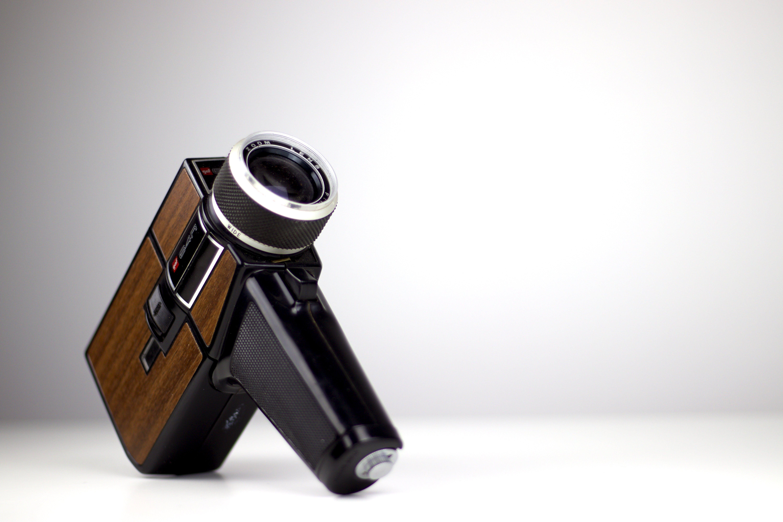 Free stock photo of vintage, retro, studio, vintage camera
