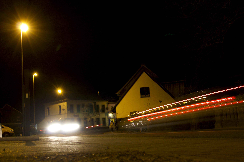 Free stock photo of night, long exposure, night time
