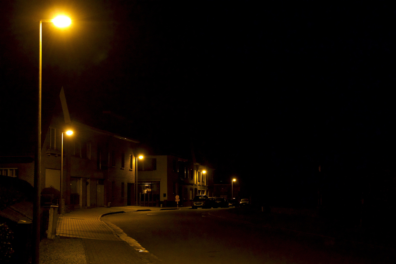 Free stock photo of night, street, street light, street lamps