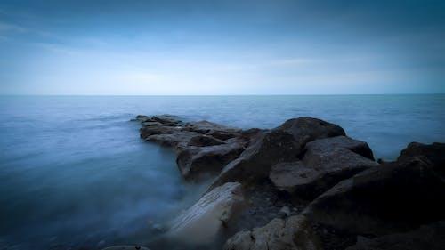 Imagine de stoc gratuită din albastru, amurg, apă, apă curgătoare