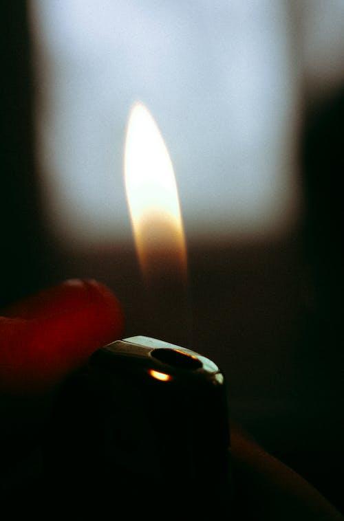 Безкоштовне стокове фото на тему «вогонь, запальничка, макрофотографія, шум»