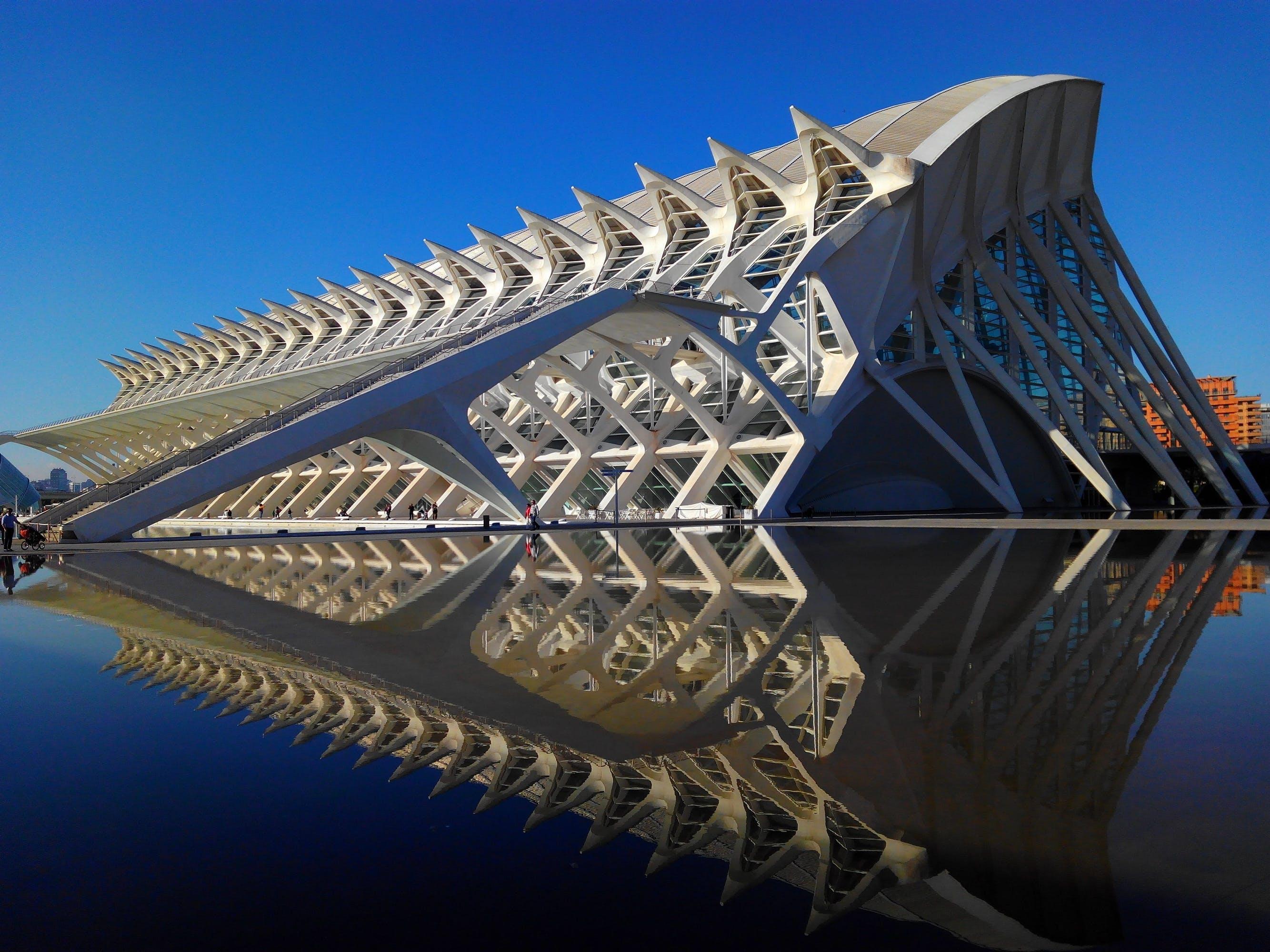 architectural design, architecture, blue