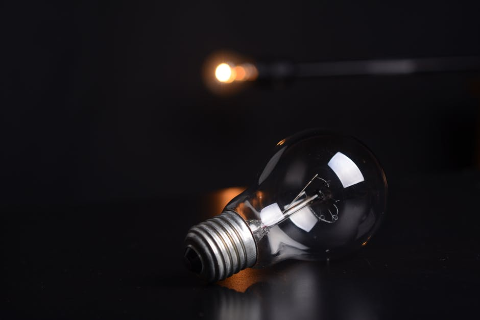 Silver Light Bulb