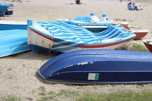 Free stock photo of beach, boat, sicily