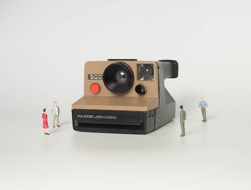Imagine de stoc gratuită din miniatură, oameni, Polaroid