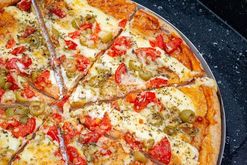 domates, Fast food, Pizza, pizza dilimi içeren Ücretsiz stok fotoğraf