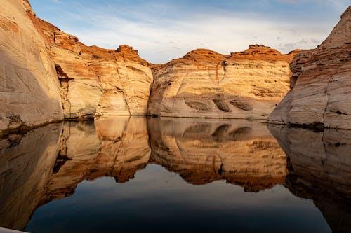 Photos gratuites de aube, caillou, canyon, coucher de soleil