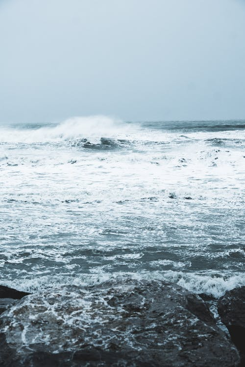 Gratis arkivbilde med bølge, bølger, cap blanc nez, cap gris nez