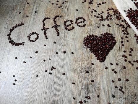 Free stock photo of love, heart, caffeine, coffee