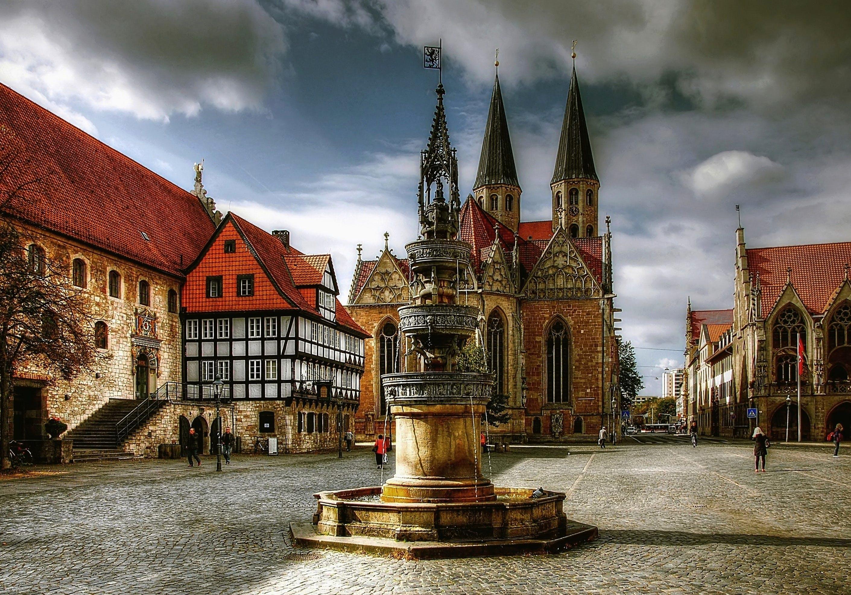 din antic, arhitectură, biserică, braunschweig