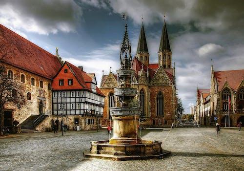 Základová fotografie zdarma na téma architektura, braunschweig, budovy, cestovní ruch