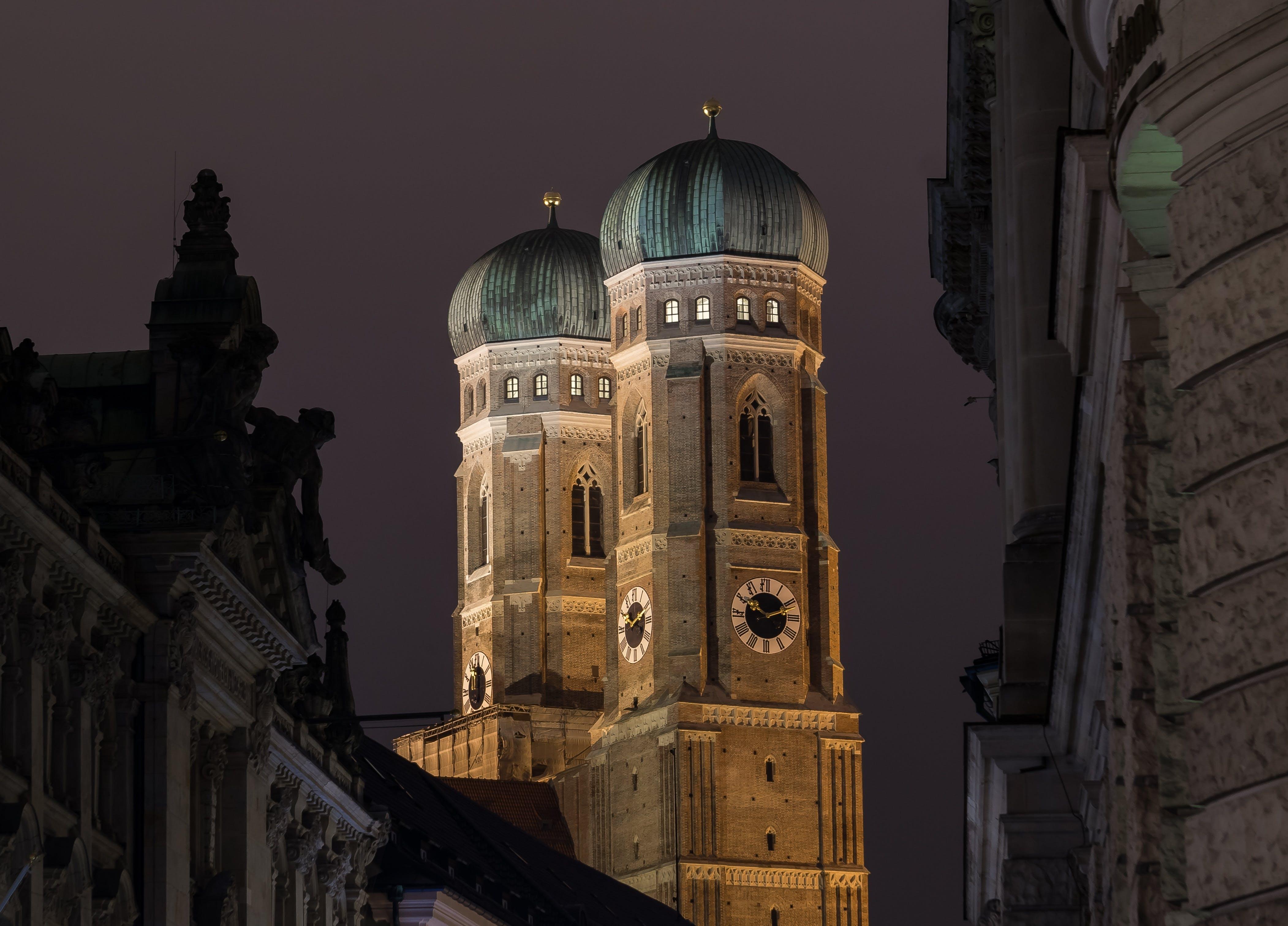 Free stock photo of city, landmark, dark, viewpoint