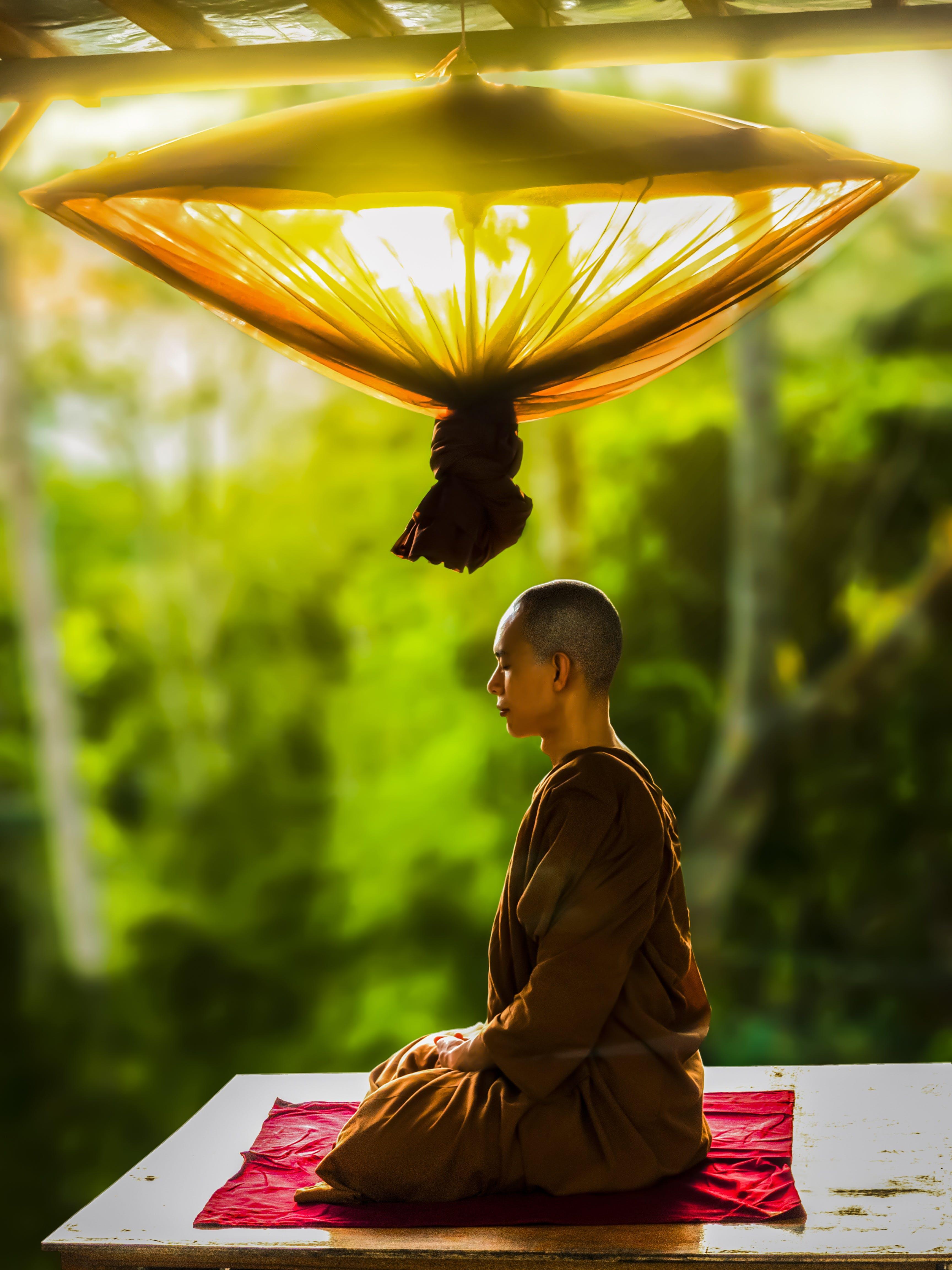 Kostenloses Stock Foto zu anbetung, asiatisch, buddhismus, chillen