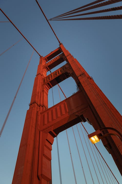 Free stock photo of bridge, golden gate bridge, morning