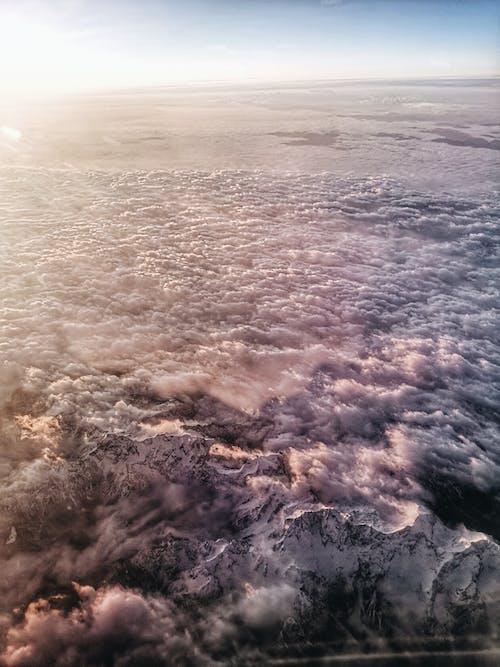 Základová fotografie zdarma na téma Alpy, hory, Itálie, let