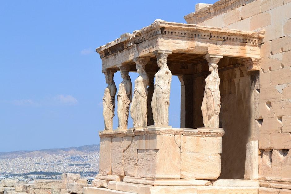 acropolis, ancient, antique