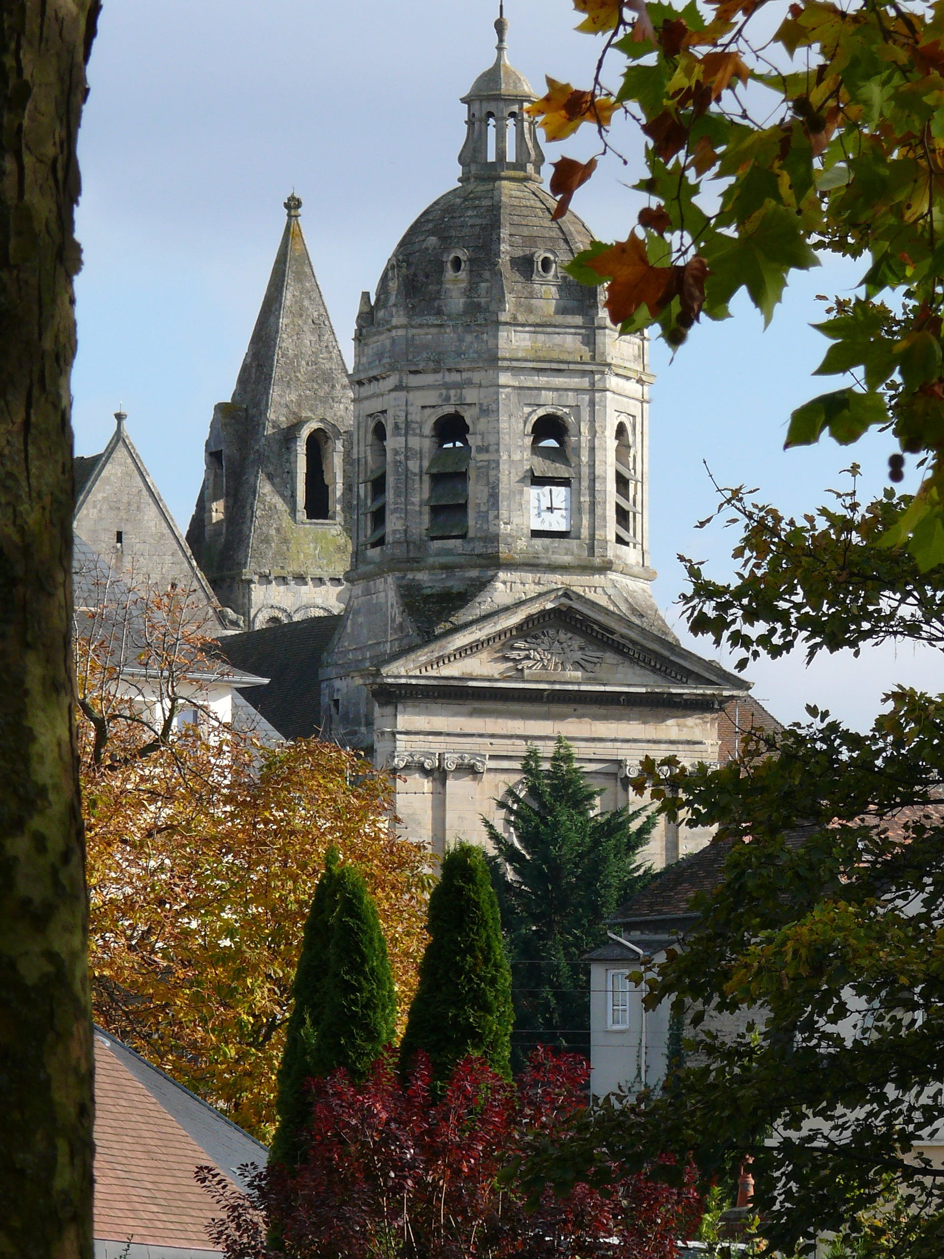 Free stock photo of bell tower, caen, church, city